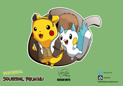 Squirrel Pikachu Final