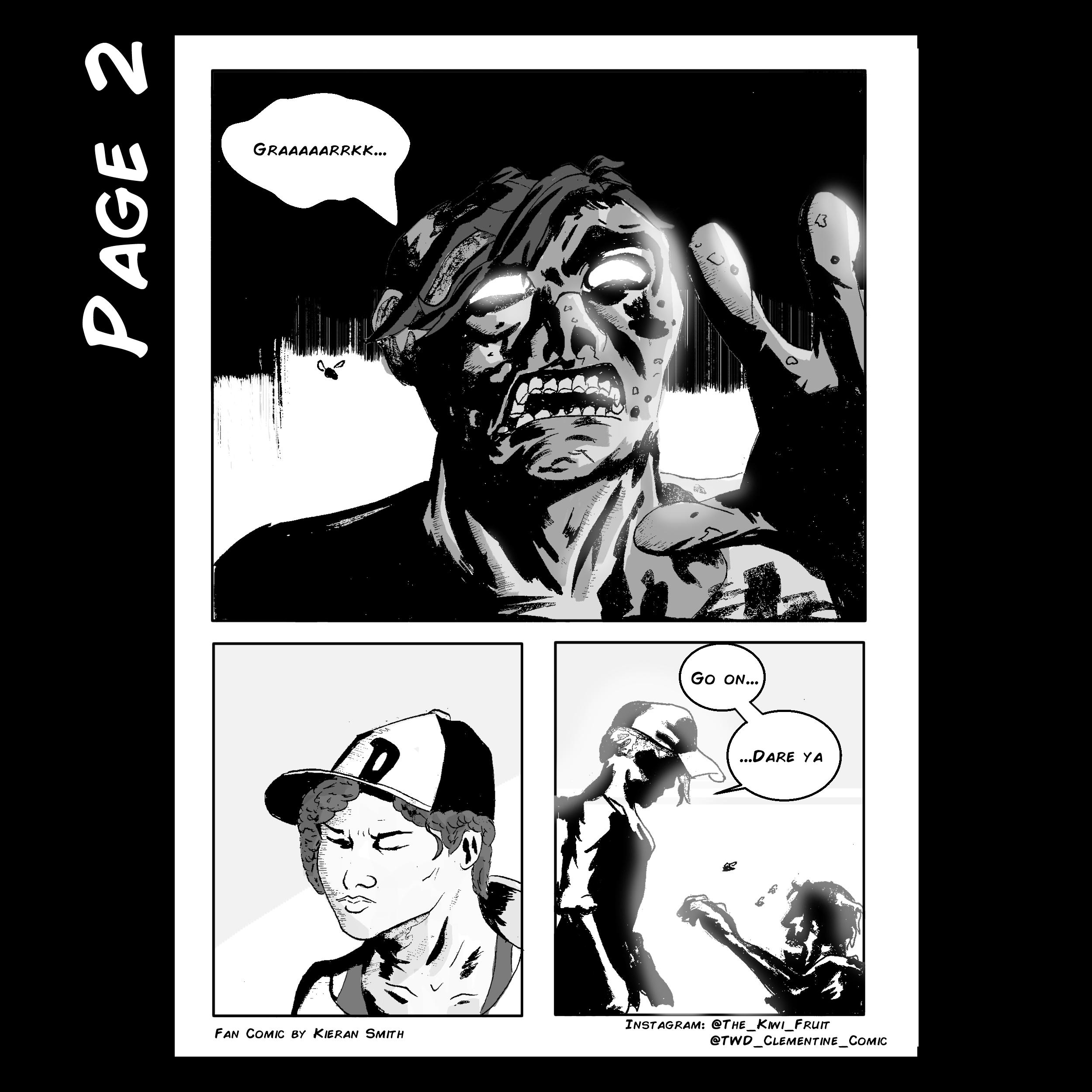 Walking Dead Clementine Page 2