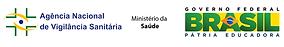 simbolo anvisa, ministerio da saude e governo federal