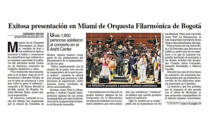 Front Page El Nuevo Herald