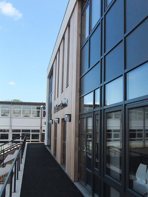 new Build 6th Form Centre for Churston Grammar School