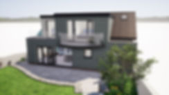 Architectural Visual for Proposed House Remodelling in Brixham
