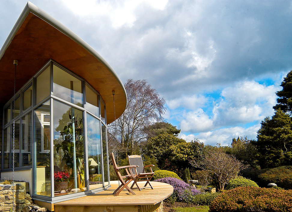 Award Winning House Extension Situated in Haytor, Devon