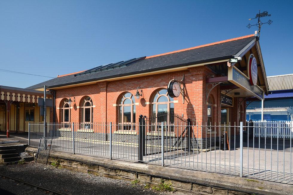 Paignton Steam Railway Station Ticket Office, Victorian Architecture