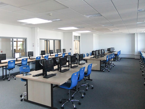 Churston Grammar School IT Suite in the 6th Form Centre