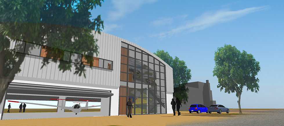Architectural Visualisation of Heritage Hanger