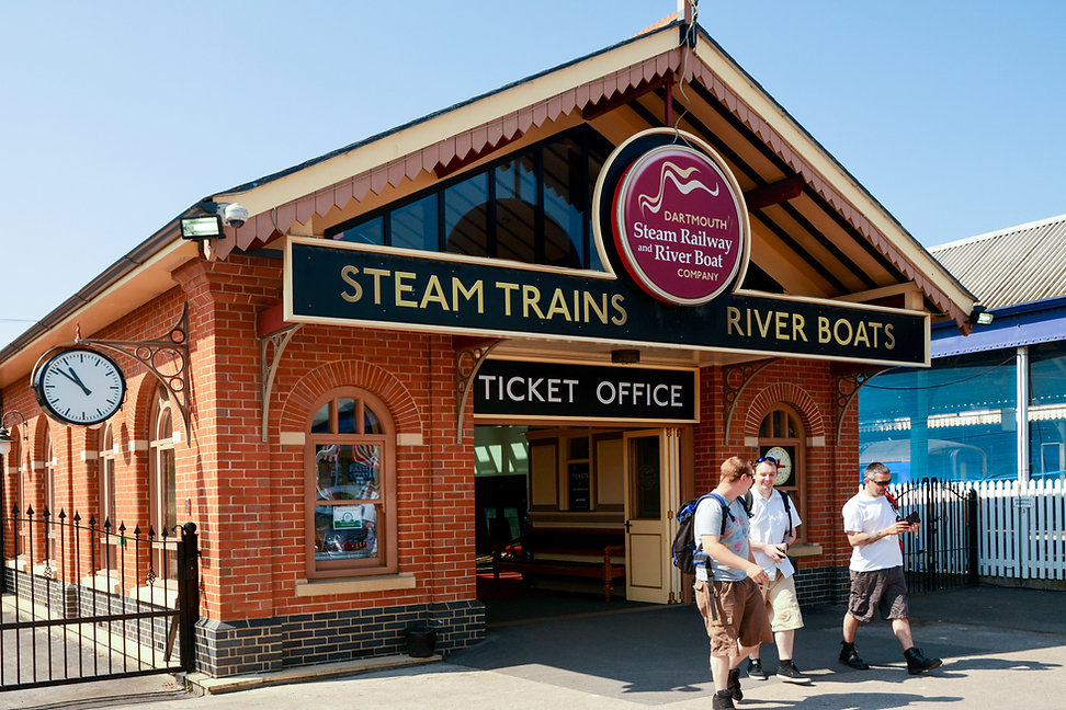Queens Park Steam Railway Station Commercial Development