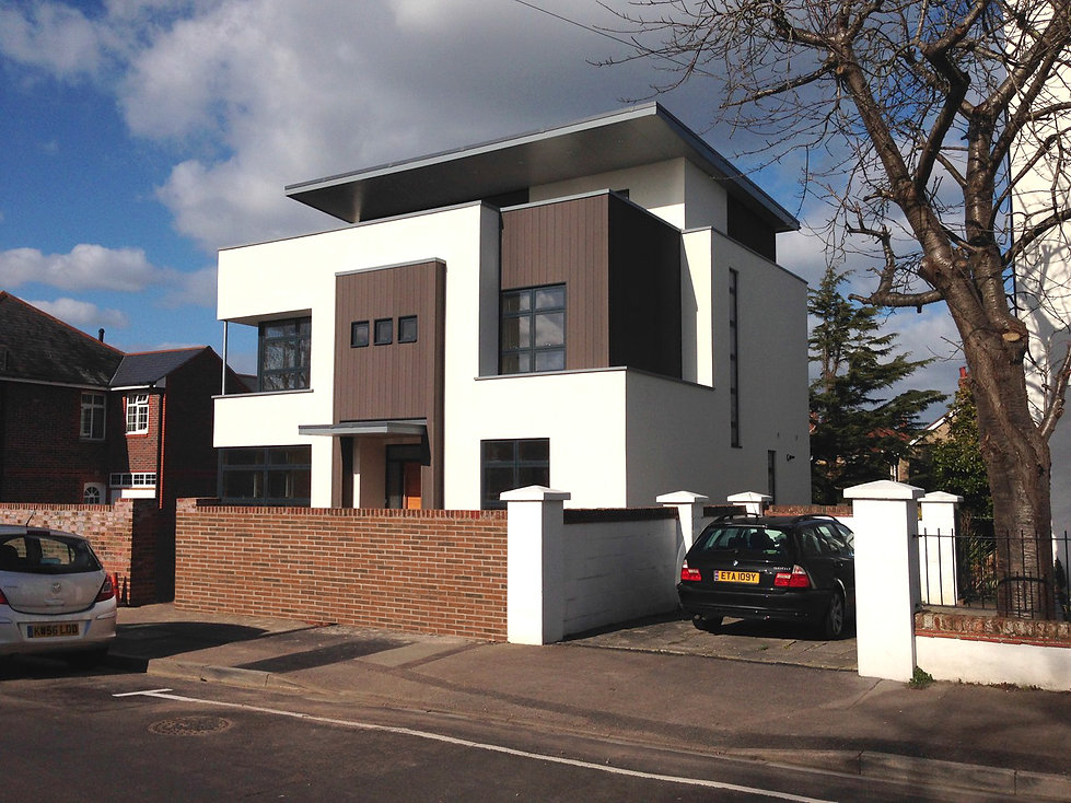 New Contemporary House Designed by MTA Architects Hampshire
