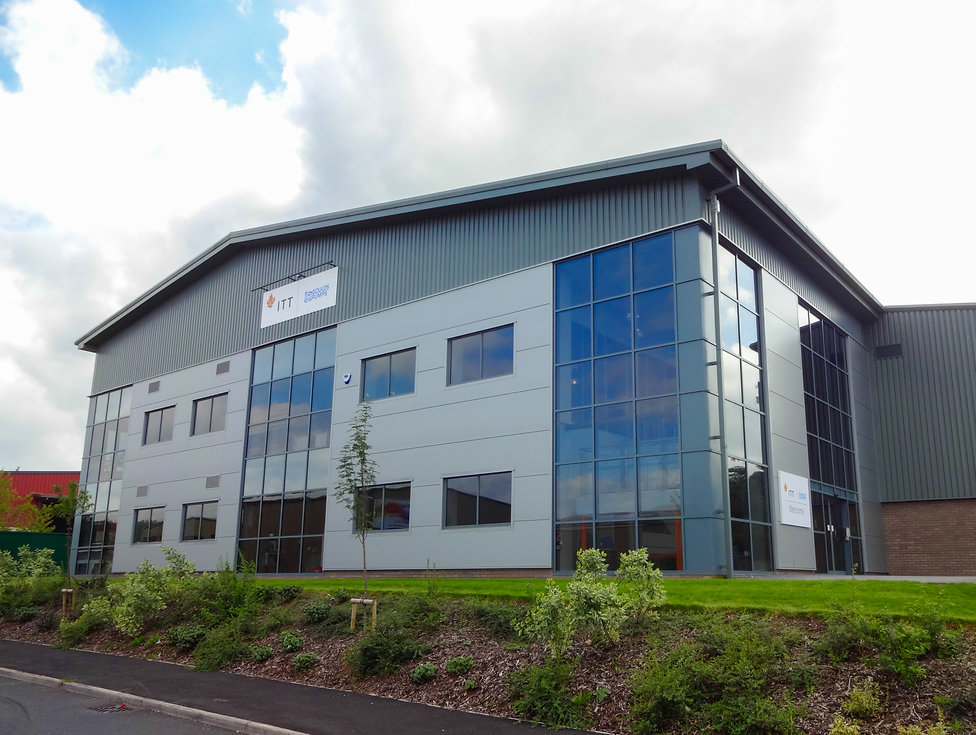 Large 2 Storey Commercial Development featuring office areas and large open plan glazed reception area