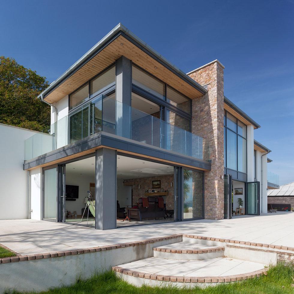Modern Glazed Coastal Property in Brixham