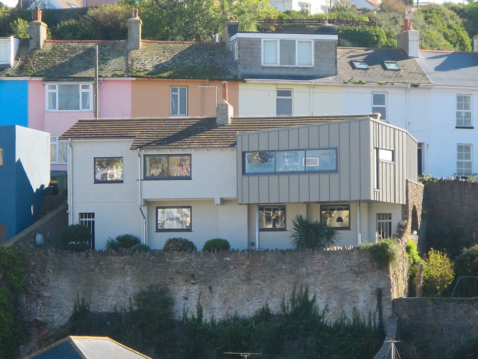 House Refurbishment and Modern Zinc Clad Extension in Brixham