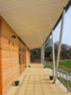 Brixham Cricket Pavilion External Terrace