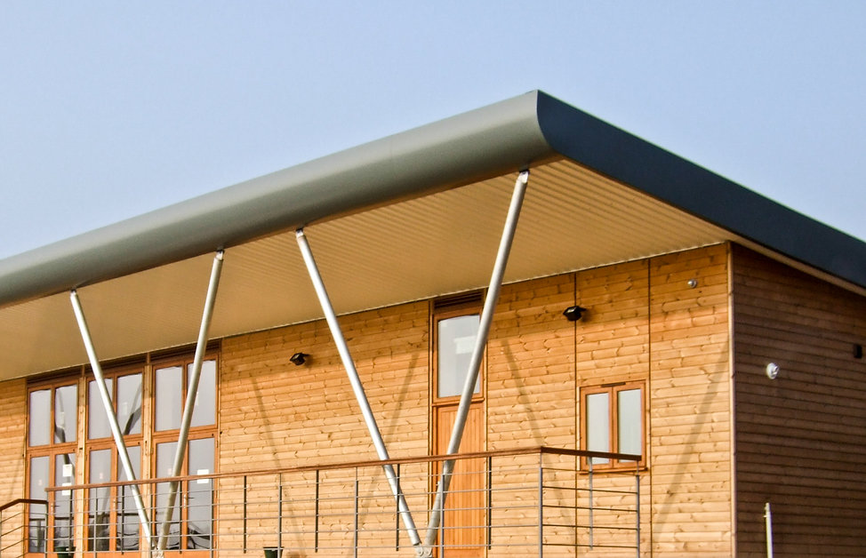 Timber Cladding and Windows, Brixham Cricket Club