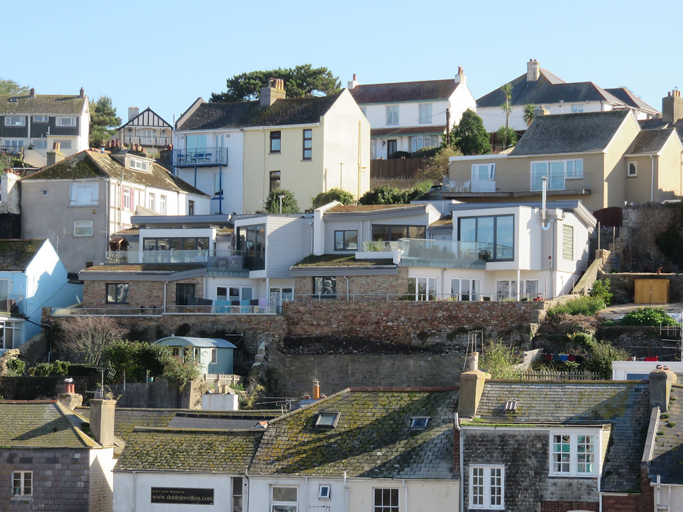 Pair of New Contemporary Houses near Brixham Town Centre