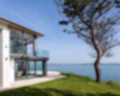 Modern Sea View Property in Brixham with views across Torbay