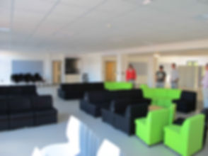 Large open plan common room Churston Grammar