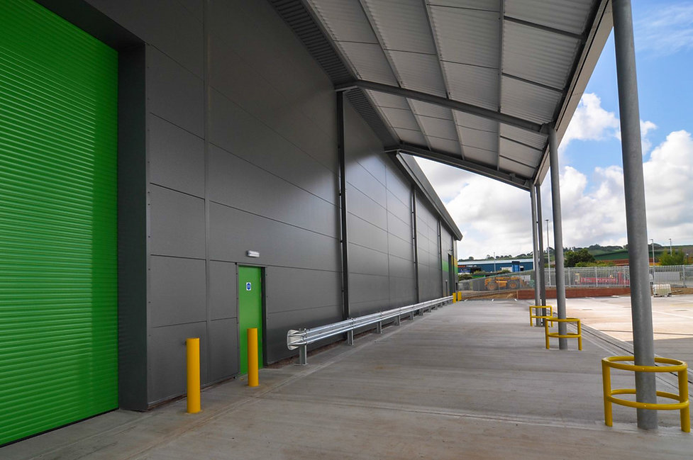 Atlas Packaging Industrial Unit in Devon