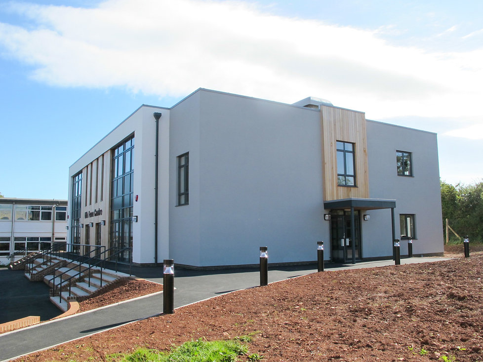 New 6th Form Centre for Churston Grammar in Devon