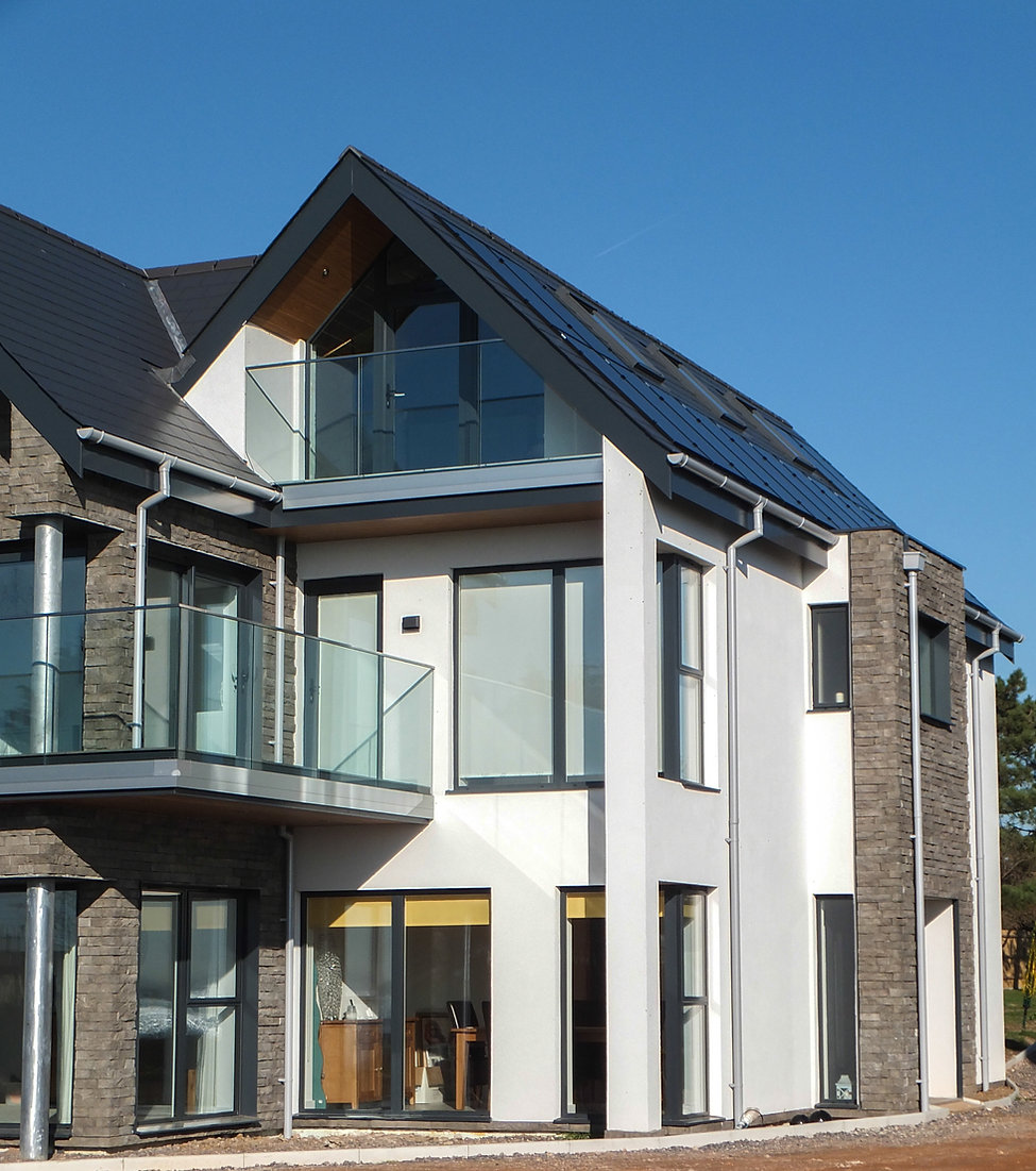 Rendered Modern New Build Property