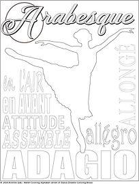 A Alphabet Ballet Coloring Page.jpg