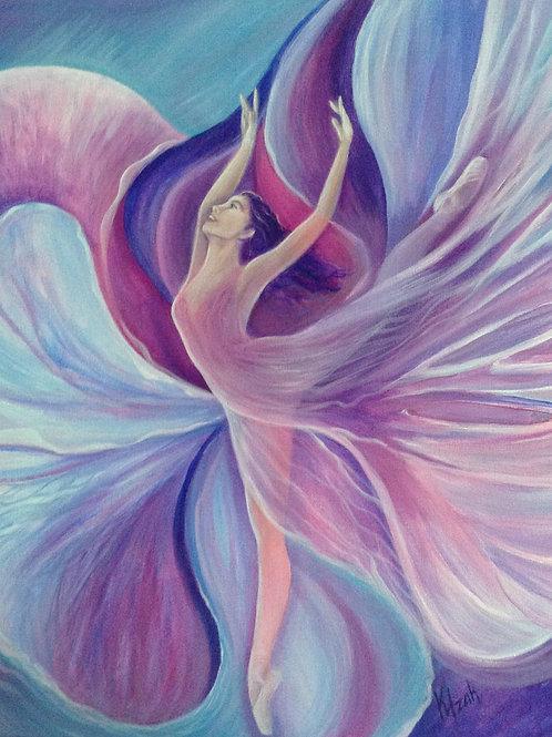 Orchid Dancer - Original Painting