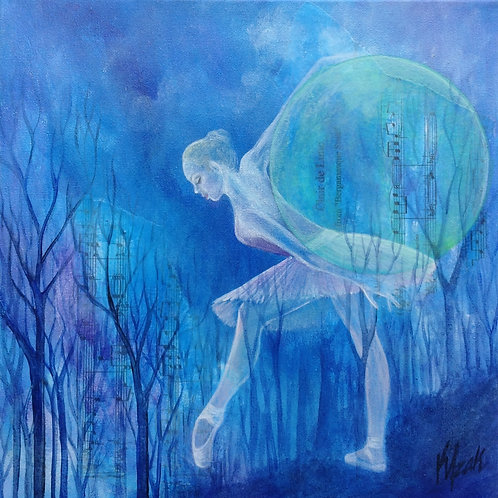 "SOLD ""Clair de Lune"" - Print on Canvas"