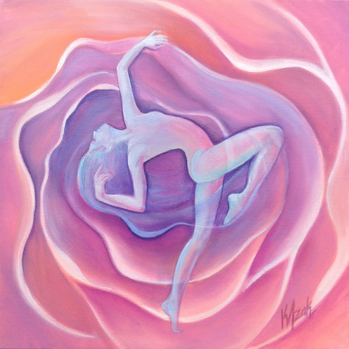 """SOLD """"Bloom""""- Print on Canvas"""