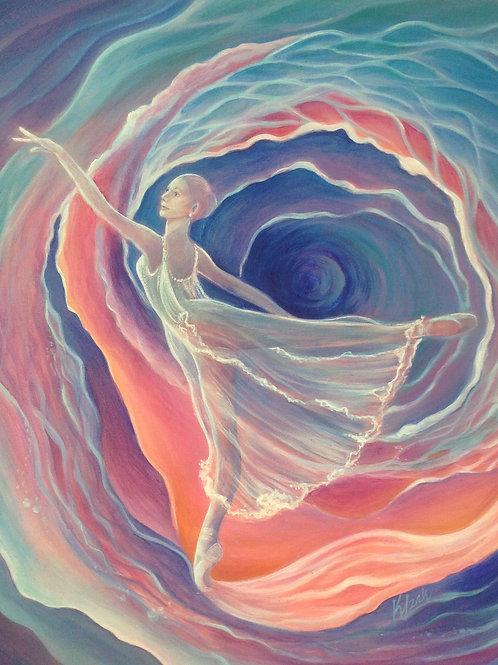 Celestial Rose - Original Painting SOLD