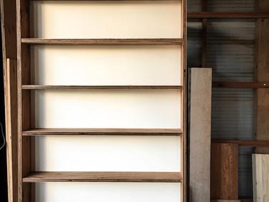 本棚制作【造り付けの家具】