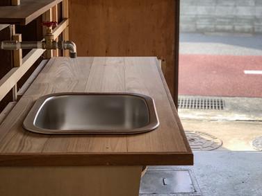 次は手洗い場【作業場DIY】
