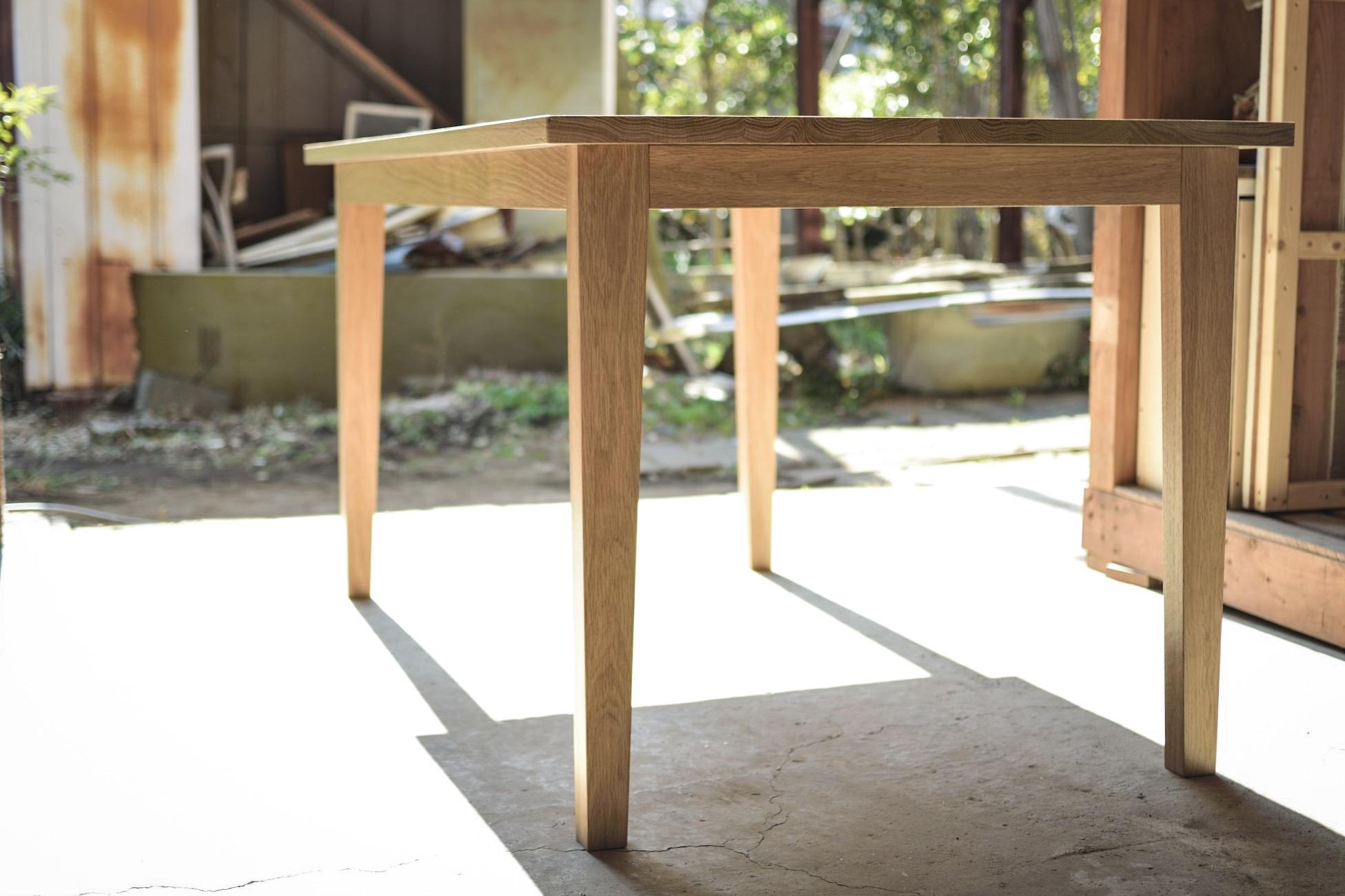 ダイニングテーブル/ホワイトオーク