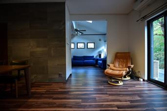 The renovated a onsen villa