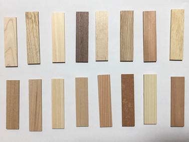 どれも違う、どれも好き【木材サンプル】