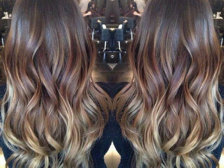 "The ""ombre"" hair color"