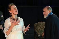 Cheri Wicks (Goneril), Stephen Mo Hana (