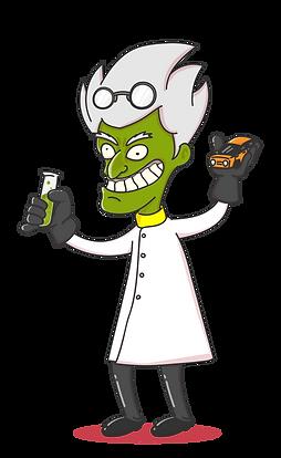 Car Scientist Mascot TRANSPARENT.PNG