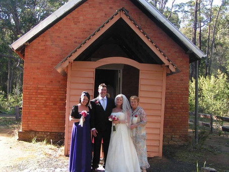 Wedding in a Historic Church