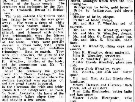 1904 Wedding