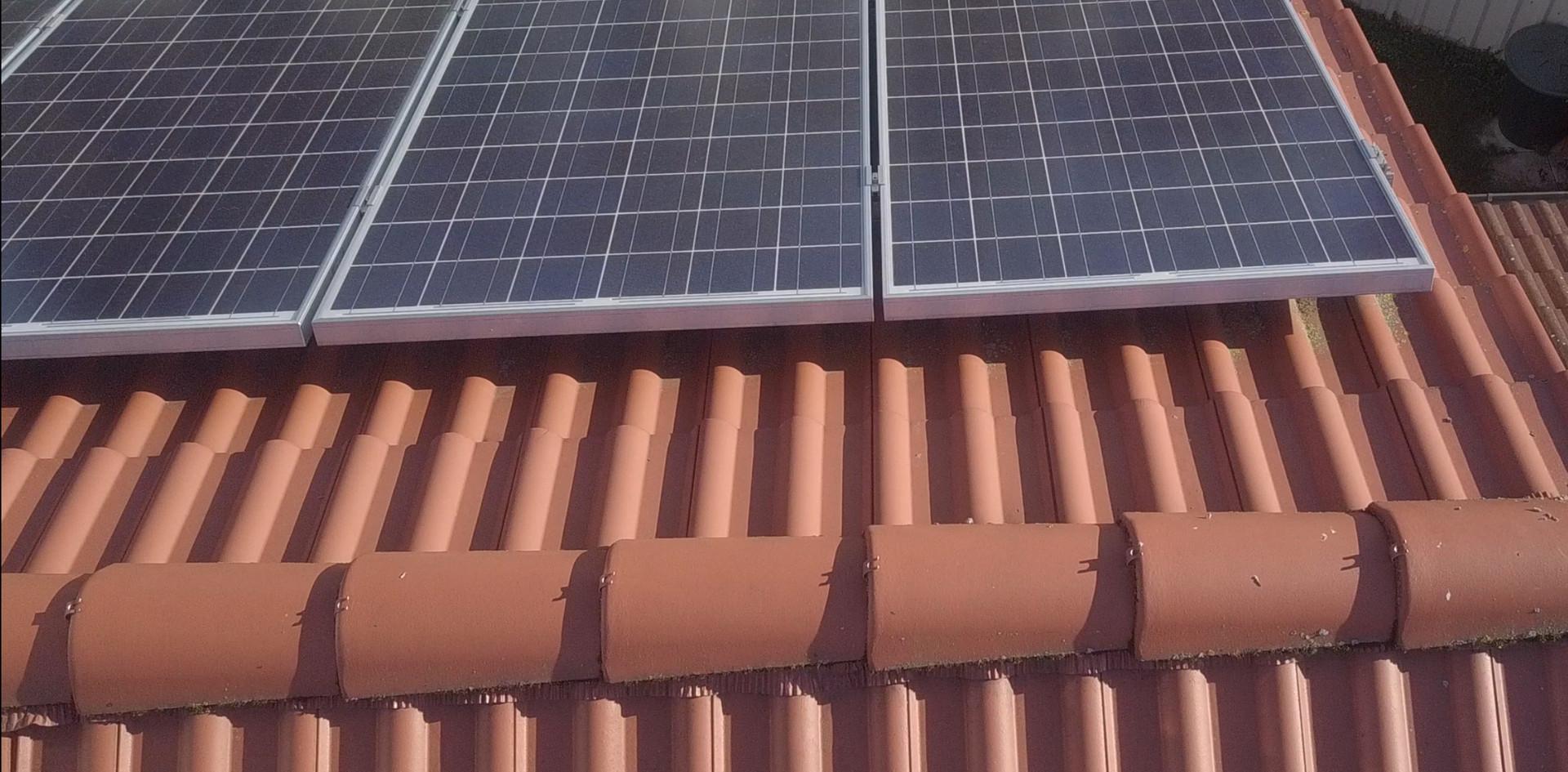 Solarzellen Kontrolle