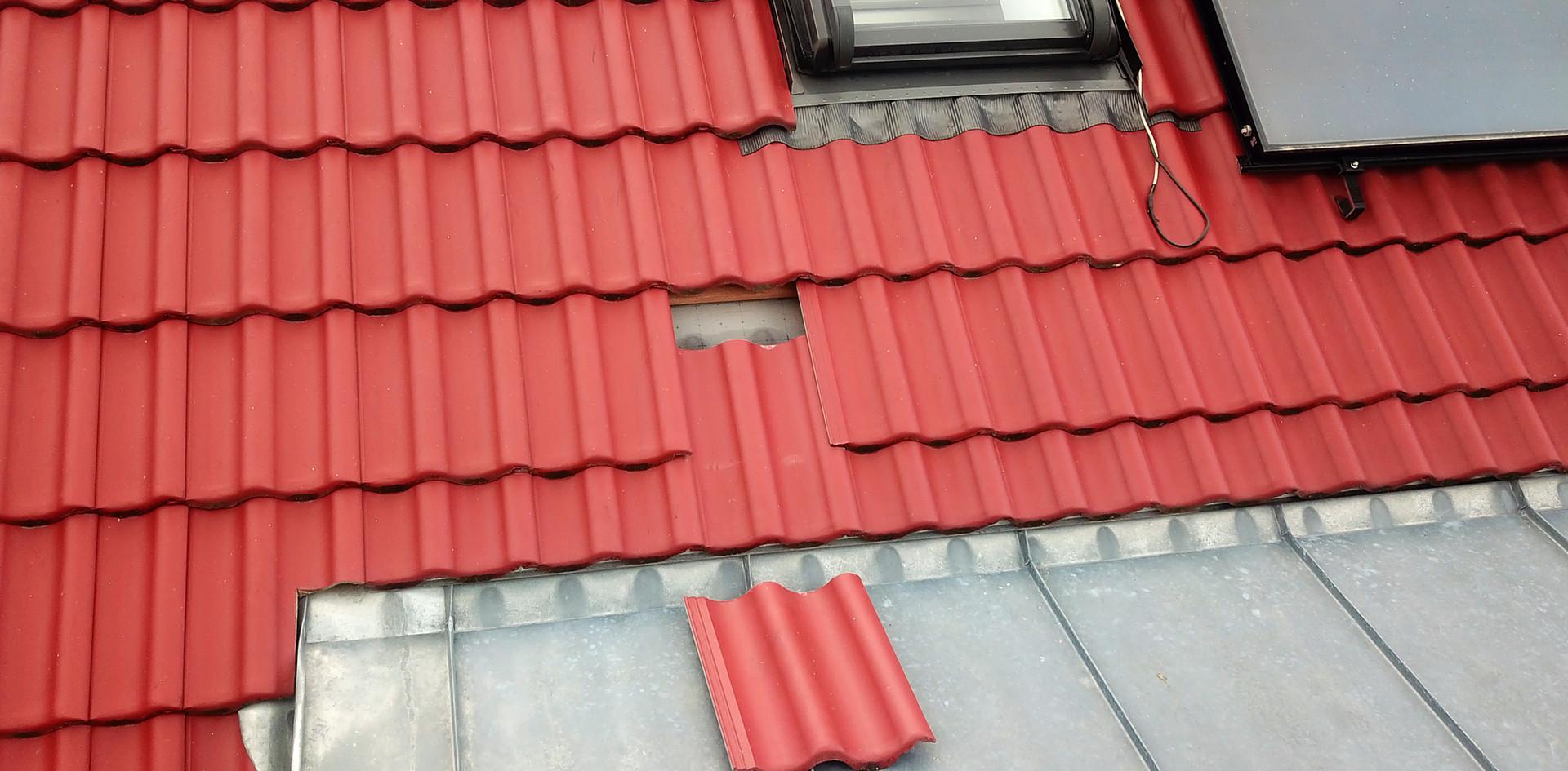 Schaden Dachziegel