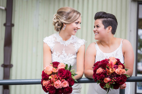 two brides photography