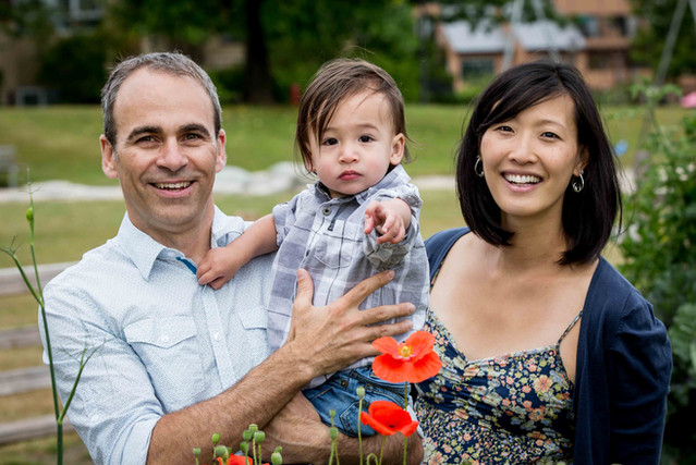 Beautiful family photos in Vancouver