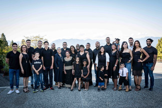 Large family photography