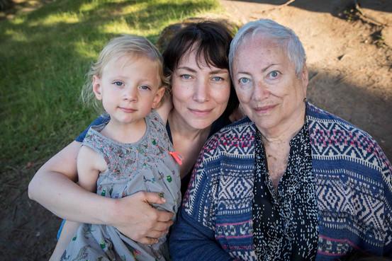 Three generations photography