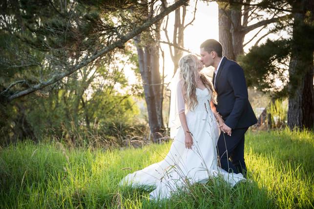 Kisses and weddings