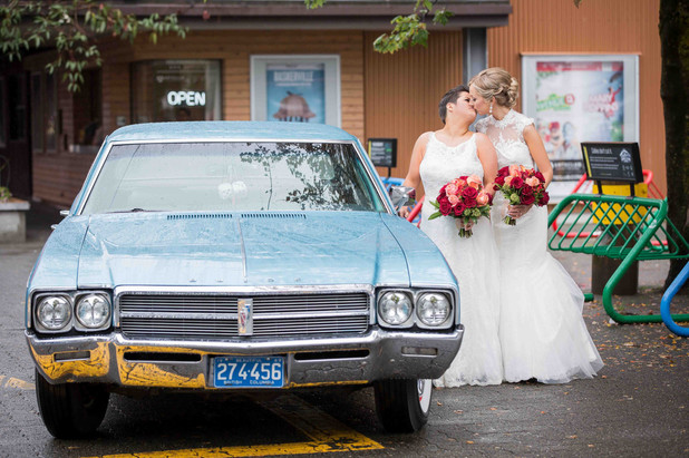 Same sex wedding photogrpapher