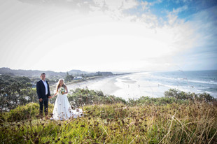 Wedding photos with the view