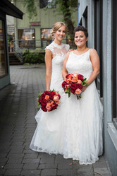 Two brides wedding photography
