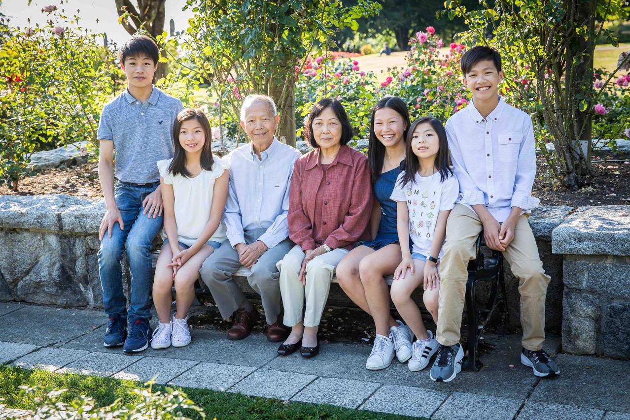Grandparents and grandkids photos