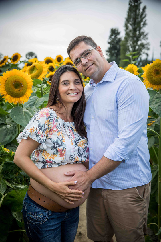 Maternity sunflowers